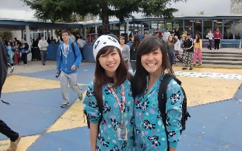 Battle of the Classes Spirit Week: Pajama Day - March 2011