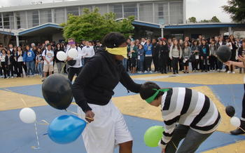 Battle of the Classes Spirit Week: Black & White Day - March 2011