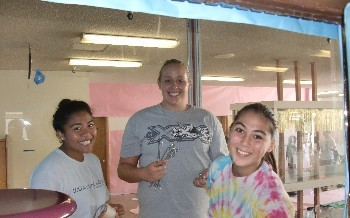 Homecoming Hall Decorating - October 2011