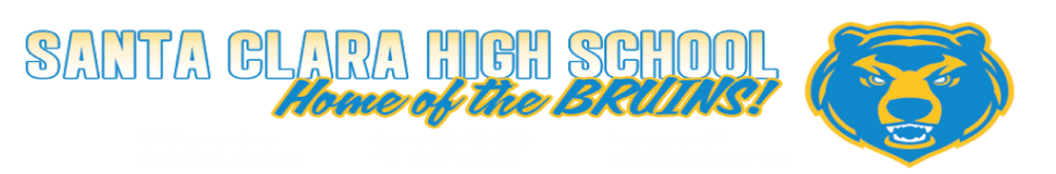 Santa Clara High School  Logo