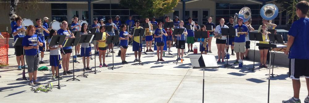 SCHS Summer Band Camp