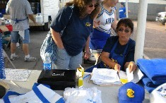 Athletic Boosters at Football Game - September 2009