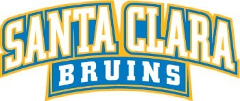 SCHS Logo - Santa Clara Bruins words only